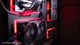 Jerryrigs' Rig - Wall Mounted Gaming Pc