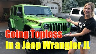 Jeep JL Freedom Top Removal and How to Store Them