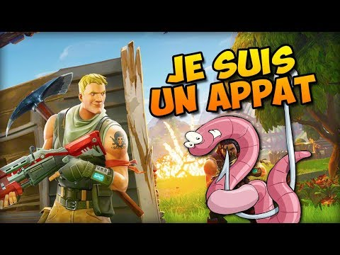 Je suis un appat ! | Fortnite