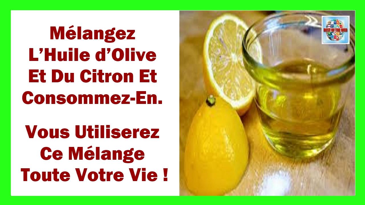 huile olive a jeun bienfaits