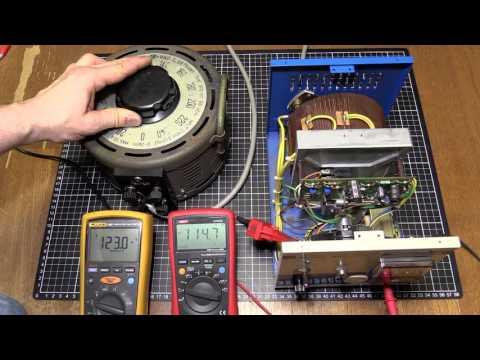 A Look at a Matsunaga SVC-1010 Transformer Automatic Voltage Regulator