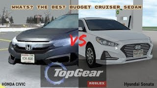 ROBLOX| Greenville| Whats the best budget cruiser sedan? (civic-sonata)