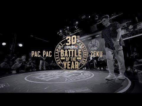 Pac Pac vs Zeku | 1vs1 World Final | SNIPES Battle Of The Year 2019