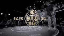 Pac Pac vs Zeku | 1vs1 World Final | SNIPES Battle Of The Year 2019