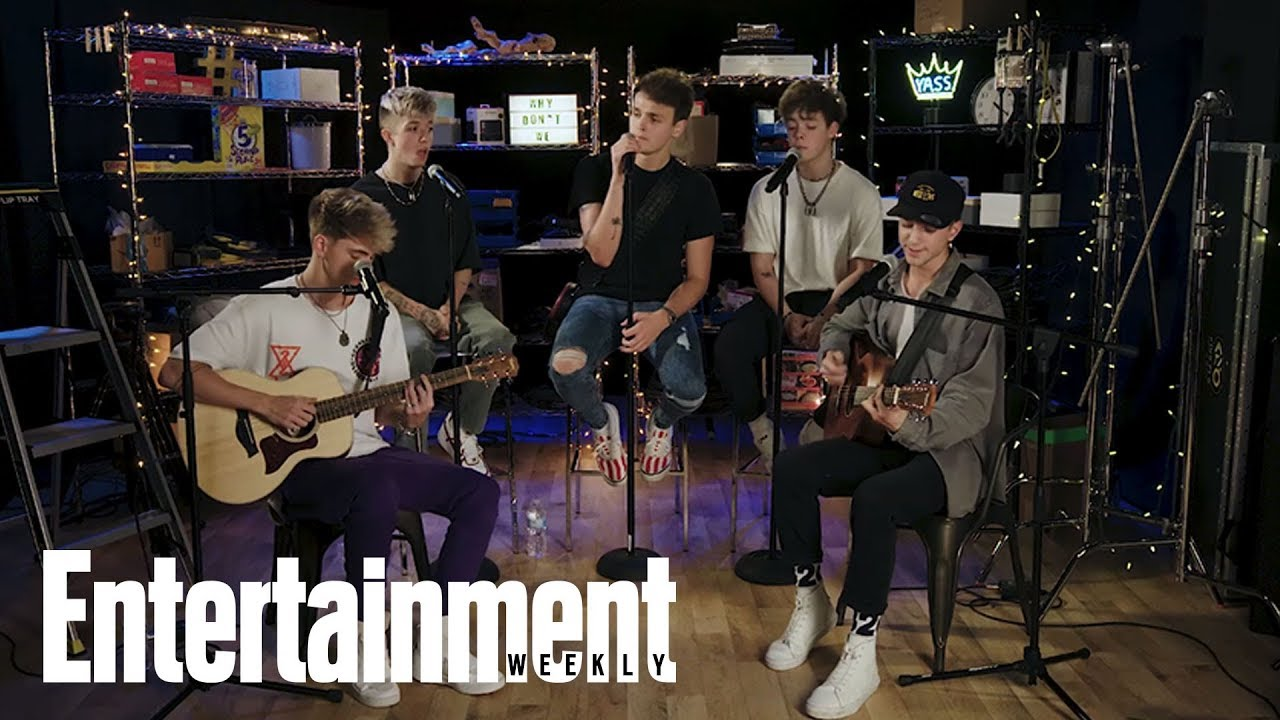 Why Don't We Performs 'What Am I' | In The Basement | Entertainment Weekly
