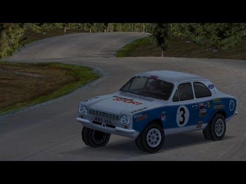 Colin McRae Rally 2 - Complete Rally of Finland - Escort Mk 1