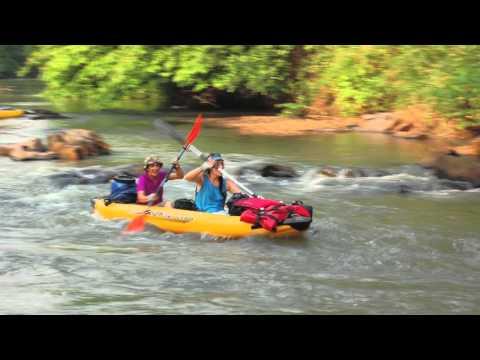 Rando Kayak sur le fleuve Mono Togo