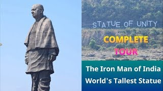Statue of Unity   Complete Guided Tour   World's Tallest Statue