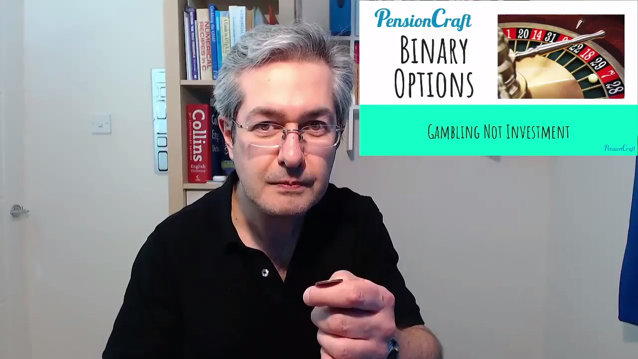 Binary options is not gambling