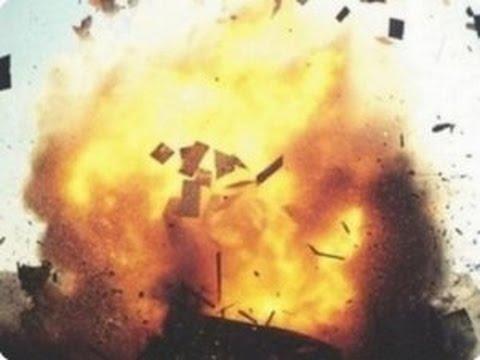 Взрыв твердотопливного котла / Explosion solid fuel boiler - Big Bang!