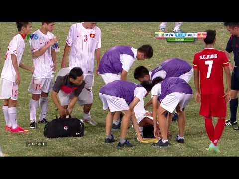 U19 Đông Nam Á: U19 Việt Nam - U19 Myanmar Hiệp 2