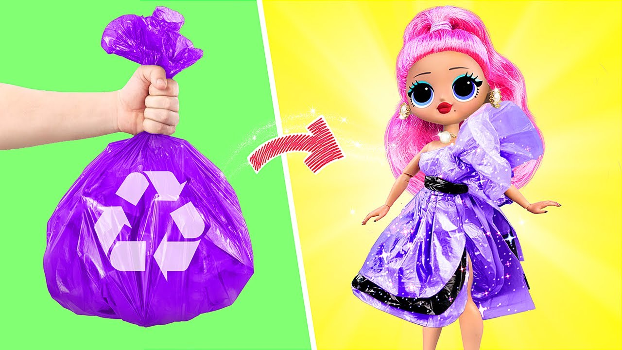 Download Never Too Old for Dolls! 9 Barbie and LOL DIYs