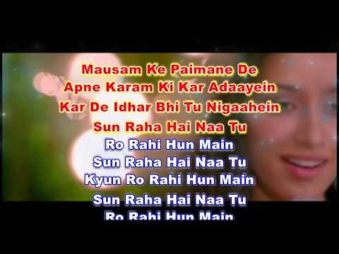Sun Raha Hai Instrumental karaoke(courtesy CSV Sounds)