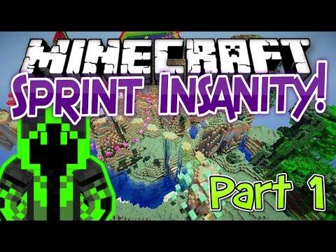 Minecraft PARKOUR!! | Sprint Insanity *PART 1*