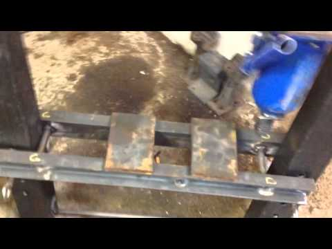 Presse  hydraulique d atelier maison 16 tonnes pour 60e
