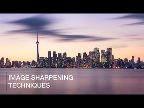 Image Sharpening Techniques In Photoshop
