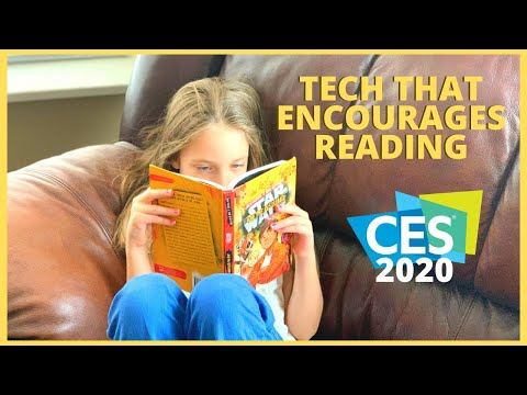 Tech Toys Encourage The Love Of Reading