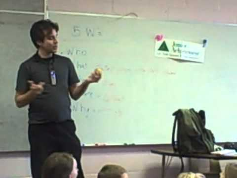 Talking with Ossian Elementary School students 15
