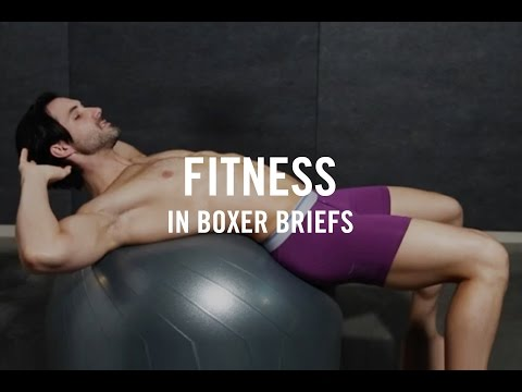 Fitness | Workout In Your Underwear | Workouts At Home Part 3 - Boxer Briefs thumbnail