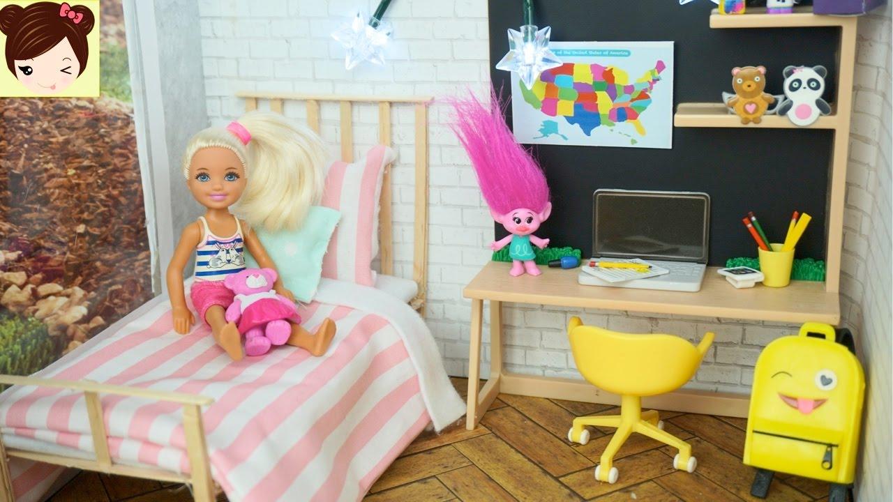 Nueva Habitacion de Barbie hermanita Chelsea - Series de Barbie y ...