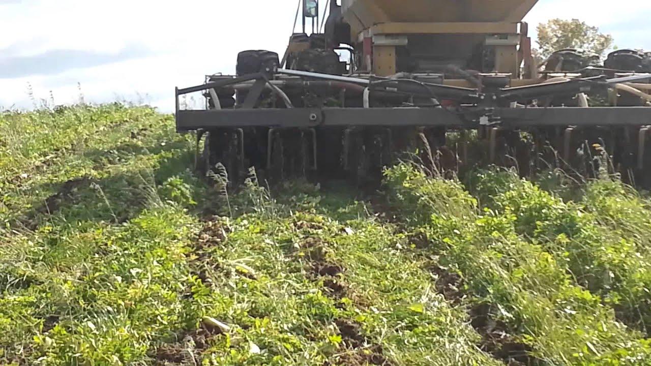 Soil warrior strip tiller in action dynamite ag youtube for Soil warrior