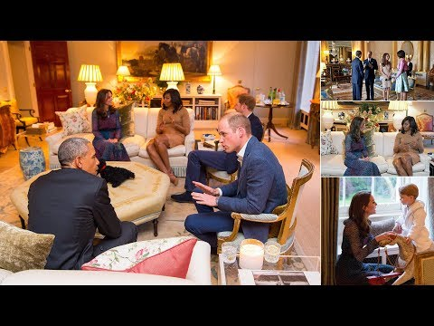Private life of William and Kate: Incredible glimpse through the palace keyhole with Obamas