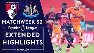 Bournemouth v. Newcastle   PREMIER LEAGUE HIGHLIGHTS   7/1/2020   NBC Sports