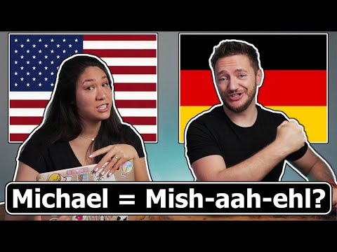 POPULAR NAMES Pronounced in GERMAN & ENGLISH