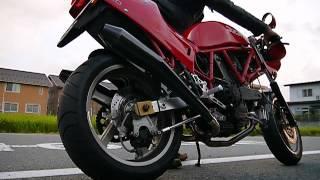愛馬900ssのエンジンスタート、アイドリング&ブリッピングです。 サ...