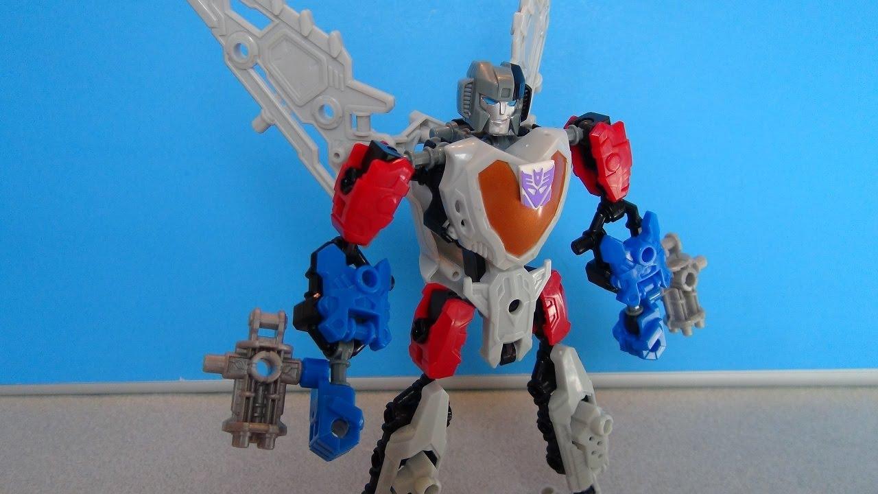 Transformers Scout Class Construct Bots Ironhide /& Starscream ACTION FIGURES