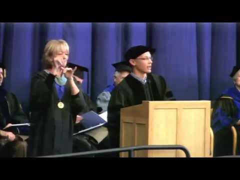 Thumbnail for Commencement Address December 2014: Dr. Kenny Miller