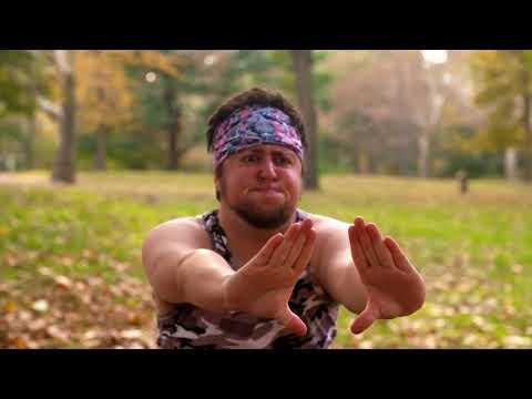 Jontron Clips-Weird Workout Videos: The Average American Man