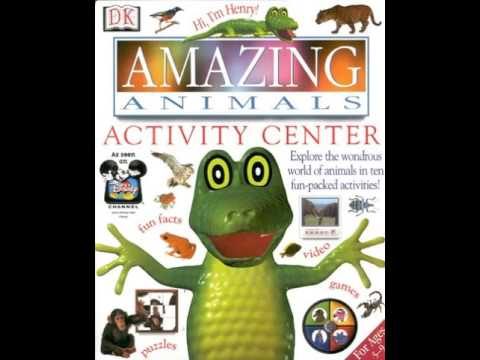 Amazing Animals: Activity Center (1997, CD-ROM)
