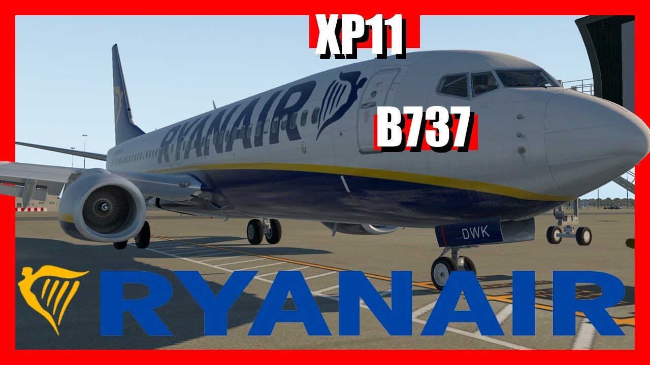 [X-Plane 11] Gatwick (EGKK) B737-800 FIRST TIME | *GTX1070*