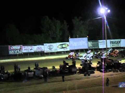 4wide Paducah Internation Raceway 4-13-2012
