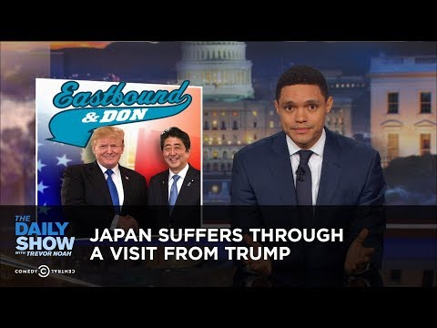 Thumbnail: Japan Suffers Through a Visit from Trump: The Daily Show