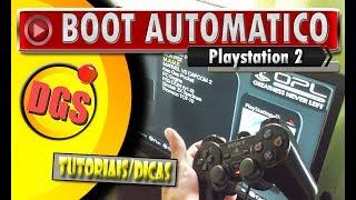 🔸 Playstation 2 - BOOT para iniciar OPL automático sem aperta R1