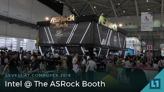 Computex 2018: Intel @ ASRock