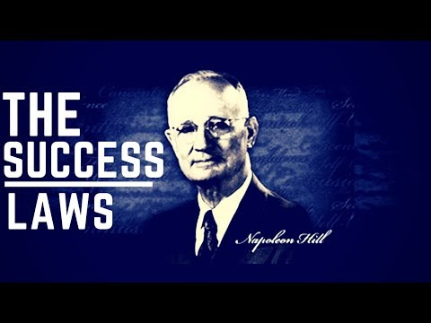 """Napoleon Hill's """"Secrets To Success!"""" - Master These Universal Laws!"""