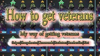 How to get veterans | GUNS UP! | My way of getting vets