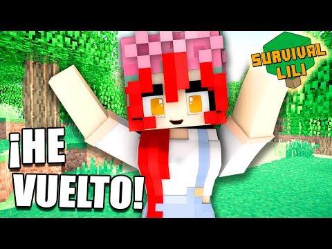 DE VUELTA A NUESTRA CIUDAD!!   Ep.33   Survival Lili ~ Minecraft en español