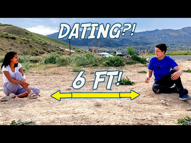 How to Date while Social Distancing! Dating 3 cute GIRLS!