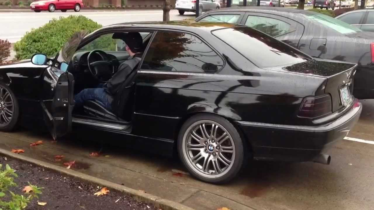 1992 BMW 325is w/ ford 5.0 mustang swap 302 - YouTube