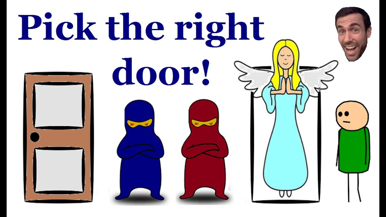heaven and hell door riddle