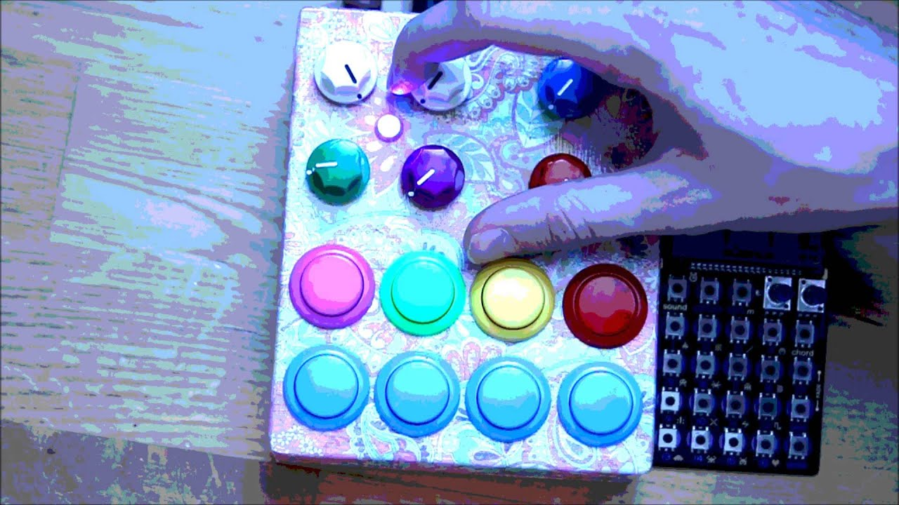 abcaf72d7a9cd digdug DIY Lofi Dreams (12bits lofi sampler w/ arcade switches ...