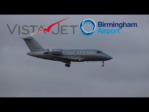 Vista Jet Malta Flight 565 (Farnborough to BHX)