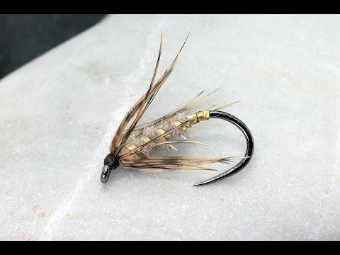 Fly Tying - How To Tie A Simple Wet Fly For River Fishing