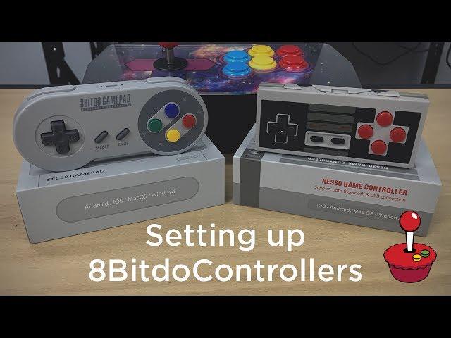 Setting up 8Bitdo Controllers in RetroPie - Tutorial Australia