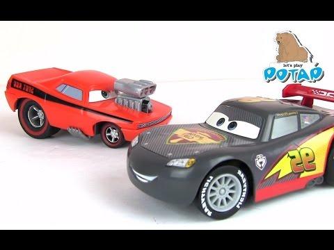 Снот Род и Молния Маккуин. Машинки из Мультика Тачки. Игры для Мальчиков. Машинки. Игрушки