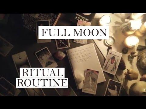 Full Moon Ritual Routine
